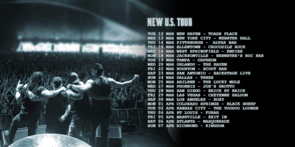 Adrenaline Mob tour dates 2013