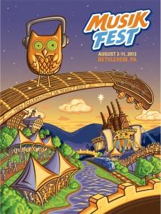 Musikfest 2013 Poster