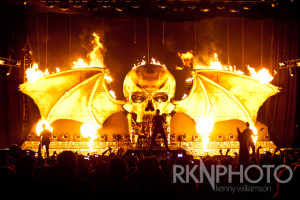 Avenged Sevenfold FIRE LIVE