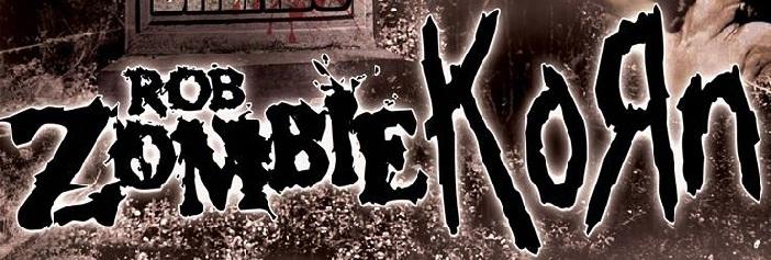 Rob Zombie Korn 2013