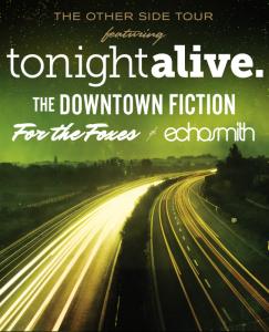 Tonight Alive tour 2013