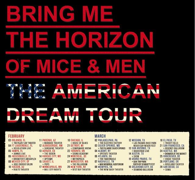 BMTH-OMandM Tour