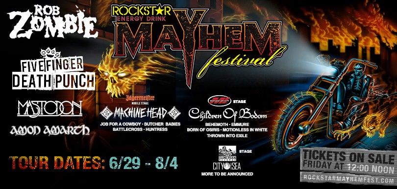 Mayhem 2013 banner