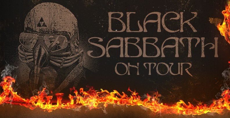 Black Sabbath 2013 tour banner