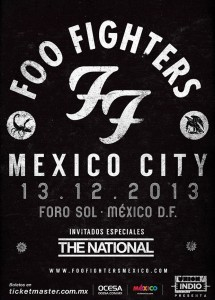 Foo Fighters Mexico