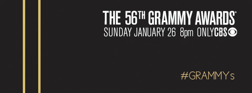 Grammy Awards 2014 banner