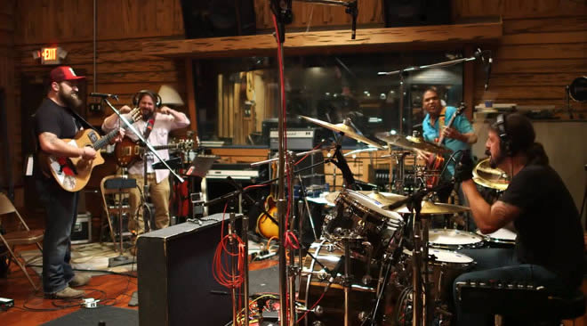 Dave Grohl And Zac Brown Band Release The Grohl Sessions