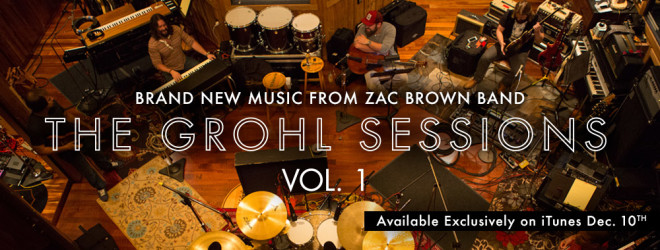 Zac Brown Grohl Sessions banner