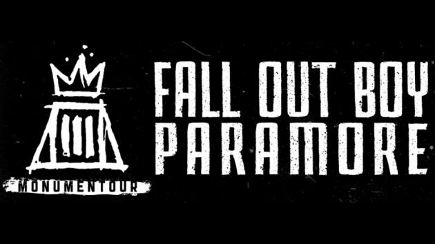 fall out boy paramore banner the rock revival