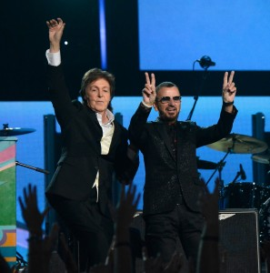 Grammys Paul and Ringo