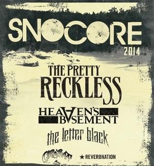 SnoCore 2014 bands