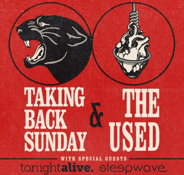 Taking Back Sunday Used tour 2014