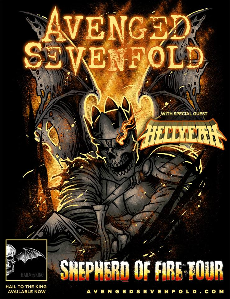 A7X Shepherd of Fire Tour