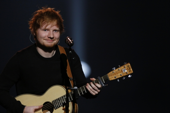 Ed Sheeran (Photo Courtesy of CBS)
