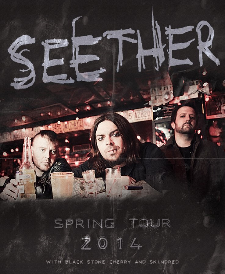 Seether tour 2014