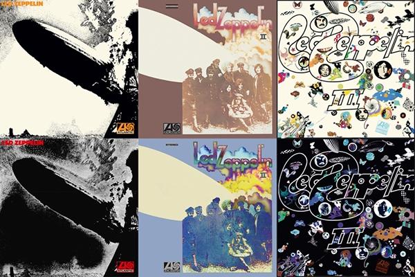 Les Zeppelin Reissues