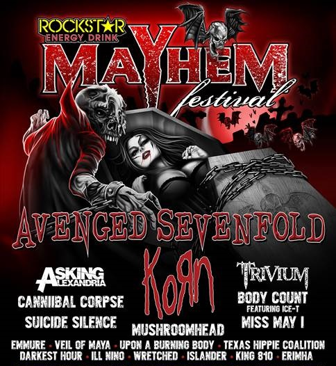 Mayhem Festival Official