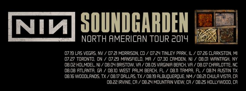 NIN Soundgarden Banner