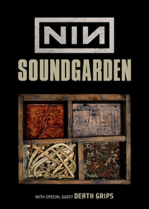 NIN Soundgarden Poster