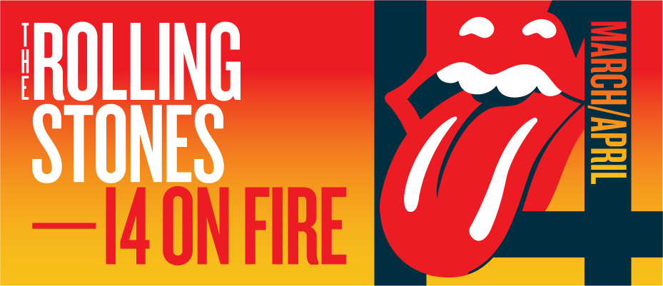 Rolling Stones 2014 tour banner