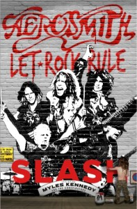 Aerosmith Slash poster
