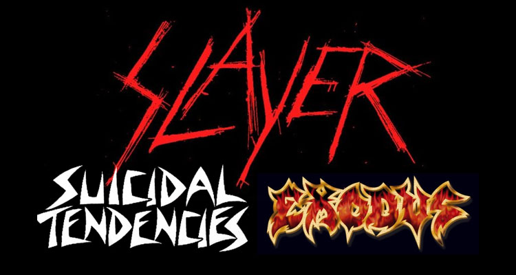 Slayer tour 2
