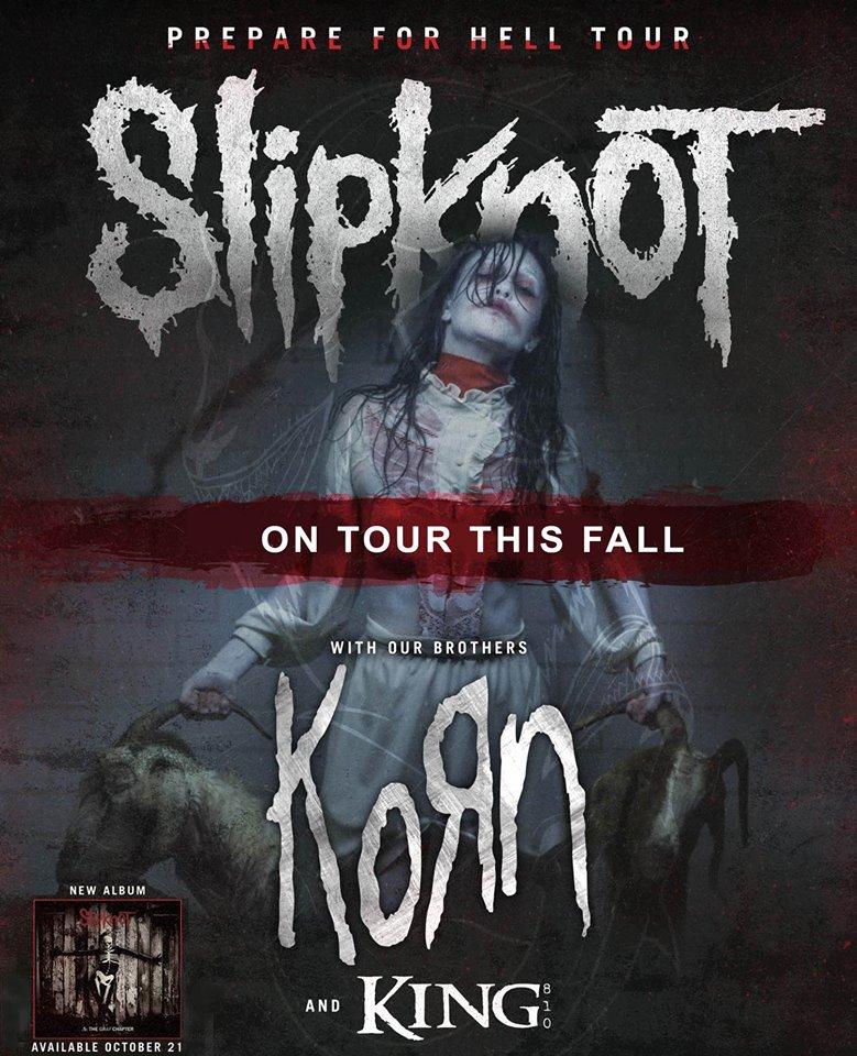 Slipknot Korn Tour