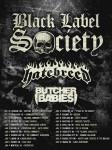 Black label Hatebreed Tour