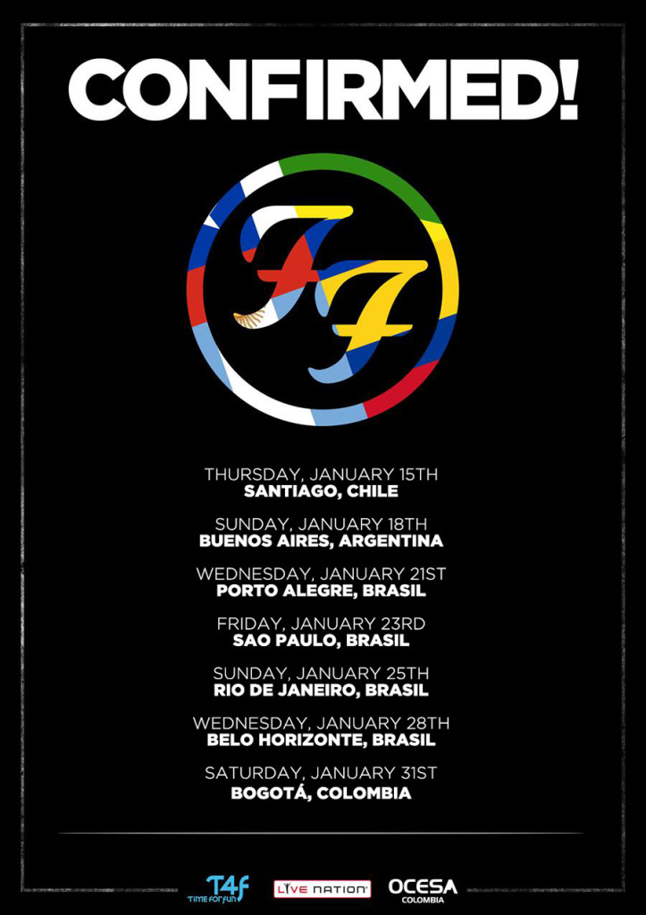 Foo Fighters South American Tour 14