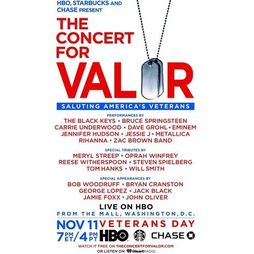 Concert for Valor NEW