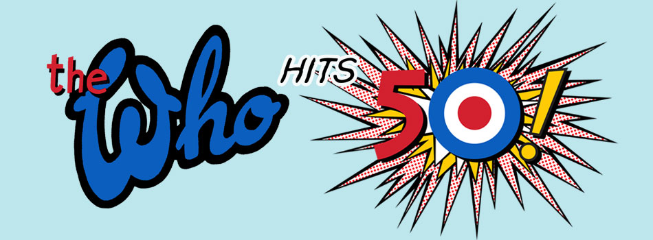 The Who 50th banner