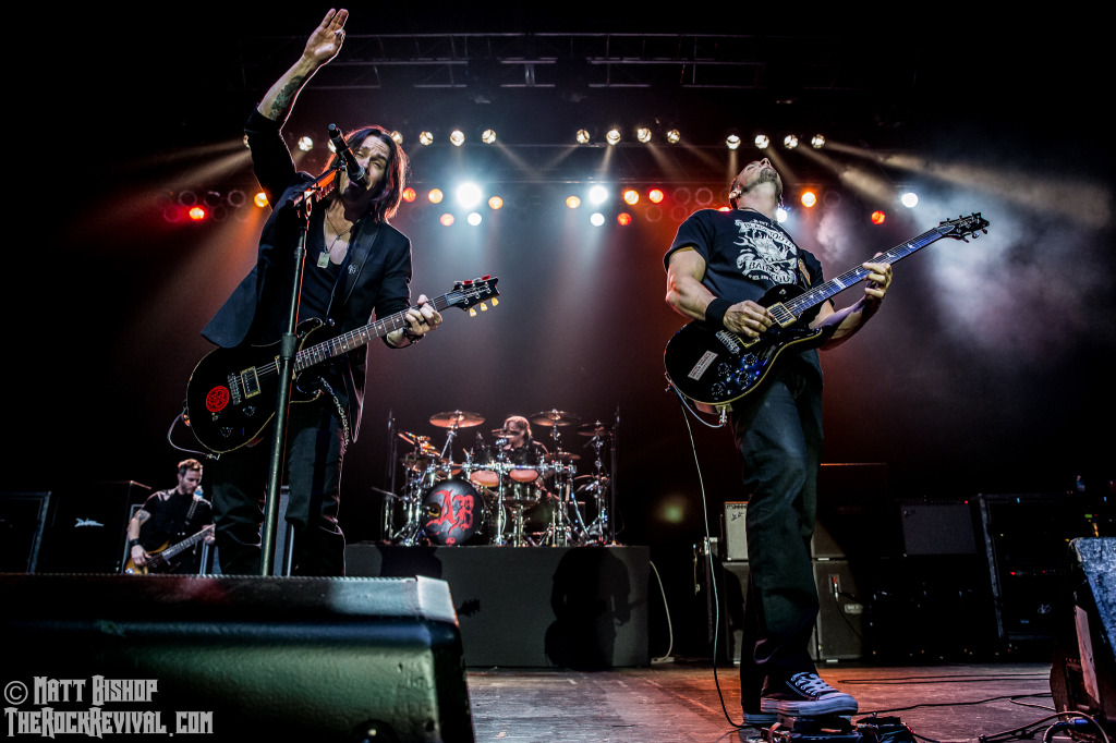 alter bridge concert report