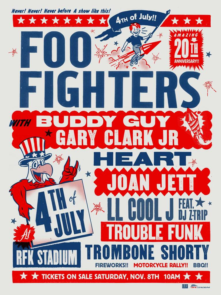 Foo Fighters 20th Anniversary