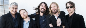 Foo Fighters Band 2014 Banner
