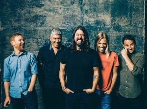 Foo Fighters band 2014