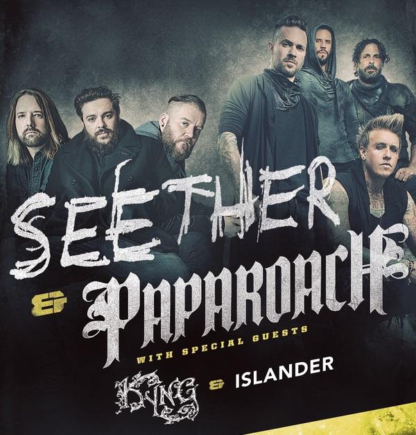 Seether Papa Roach tour