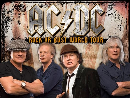 AC-DC Rock or Bust Tour