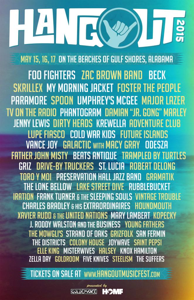 Hangout Beach Fest 2015
