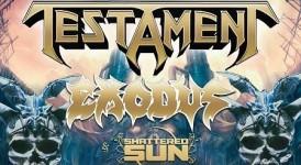 Testamen Exodus Tour Banner
