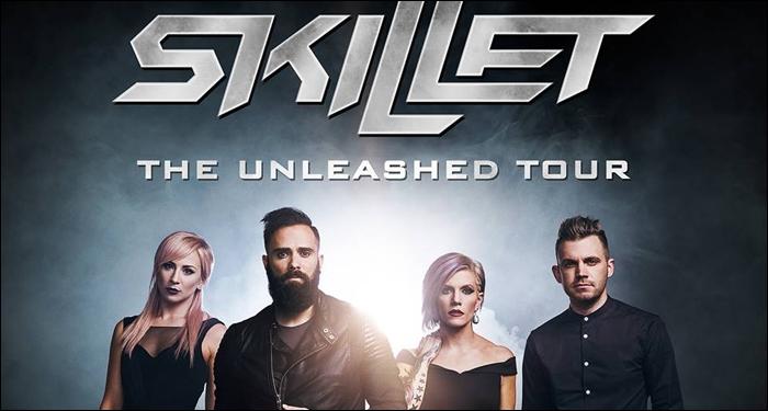 Skillet Unleashed Tour  Vip