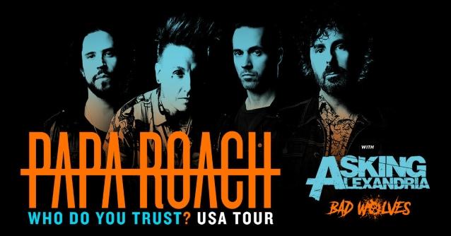papa roach 2019 tour
