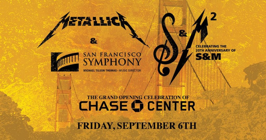 Chase Center Metallica