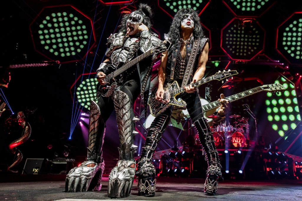 KISS End of the Road Tour Wells Fargo Center Philadelphia