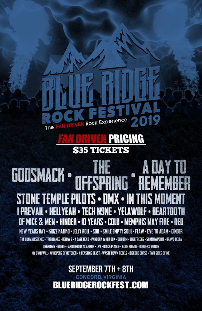 Blue Ridge Rock Festival 2019