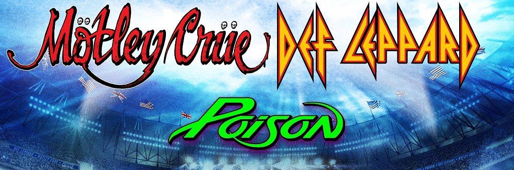 Mötley Crüe, Def Leppard, Poison Announce 2021 Re-Scheduled Tour Dates
