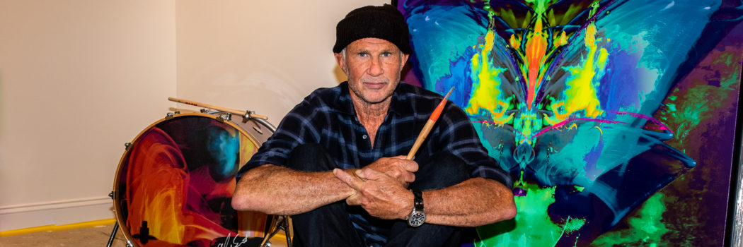 Red Hot Chili Peppers Drummer Chad Smith Talks Art, New Music